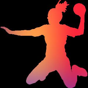 Handball Handballspielerin Handballerin Geschenk