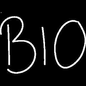 Bio Schrift Wort Schriftzug Biologisch