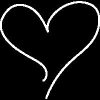 Herz Motiv Rahmen schlicht einfach Schnörkel