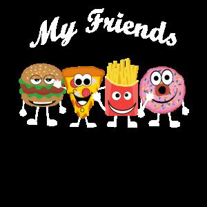 My Fast Food Friends