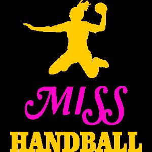 Handball Handballspielerin Geschenk