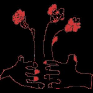 Blumen fuer die Liebsten Grafik