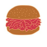 Pulled Pork Burger Smoken Räuchern BBQ Geschenk