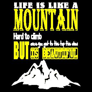 Bergsteigen klettern geschenk Bergsteiger