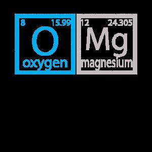 OMG Periodensystem Shirt für Wissenschaft Dorks