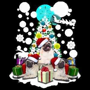 Mops Weihnachten