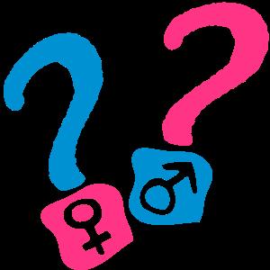 Punkt interrogatio2 garco Mädchen, Junge, Mädchen