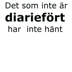Diariefört