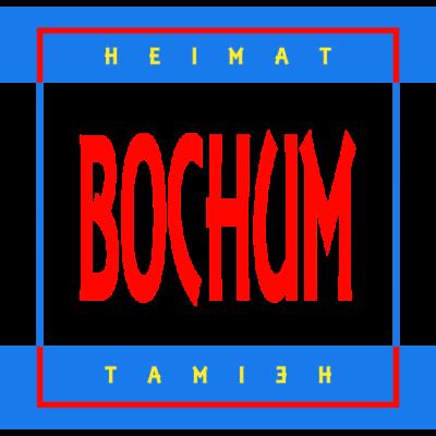 Bochum Heimat Wappen - Tolles Bochum Heimat Shirt in den Stadt und Wappen Farben für alle die in Bochum leben oder dort geboren wurden. Als Geschenk oder Andenken für Freunde die ihre City vermissen. - Original,Städte,Geburtsort,Stadt,Urbanpeople,Andenken,Wappen,Urban,Geschenkidee,Heimatstadt,Heimat,geboren in,Erinnerung,Geschenk,Bochum