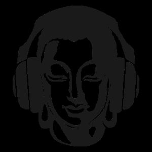 Buddha Musik Kopfhörer funny cool nice