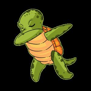 Funny Dabbing Sea Turtle Dab Dance Gift