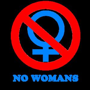 Männer-Shirt keine Frauen