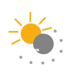 """""""LIVE BY SUN, PLAY BY MOON"""" - Lebe den Moment"""