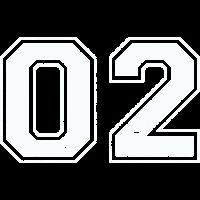 02 in weiß im Vintage-Look
