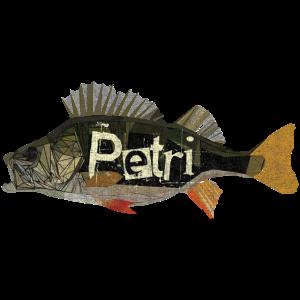 Poly Barsch Petri Angeln Fishing Fishyworm