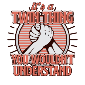 Twins - Zwillinge - Tshirt