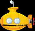 Motif Sous-marin jaune
