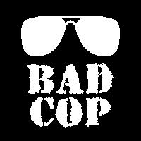 Vater Sohn Baby Bad Cop Partnerlook Geschenk