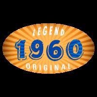 Geburtsjahr 1960 Legend Original