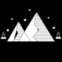 Mountains Stars