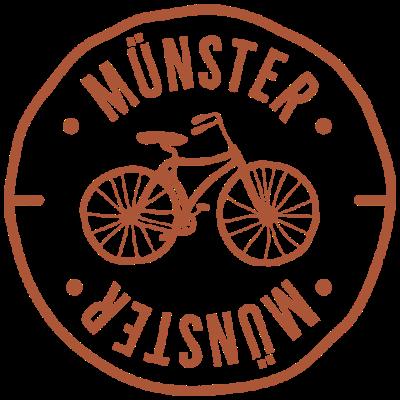 Münster Fahrrad Stadt Badge - Du bist Münsteraner, liebst dein Fahrrad und bist stolz auf deine Stadt? Dann ist dies das perfekte T-Shirt für Dich! Trage das Münsterland auf der Brust. Ideal als Geschenk für deine Freunde! - Nienberge,münster,Gievenbeck,Greven,westfalen,Angelmodde,Fahrrad,Amelsbüren,nrw,fahrradstadt,Fahrradfahren,Mecklenbeck,Häger,geschenk,geschenkidee,Gremmendorf,Fahrradstadt,Wolbeck,i love münster,Hiltrup,bike,radsport,Nordrhein-Westfalen,münsterland,fahrradtour