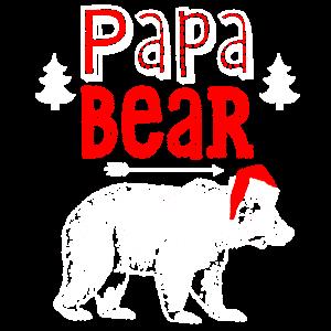 Weihnachtspaabären-Hemd