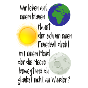 Erde Sonne Mond Wunder