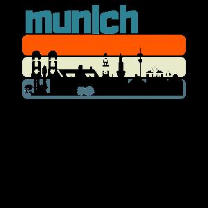 München Shirt Vintage Munich T-Shirt