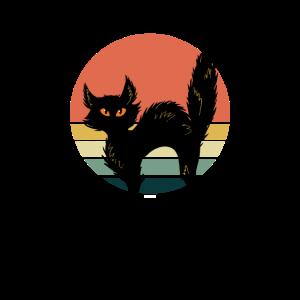 Vintage Katze Retro Style