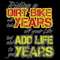 Gelände Motorrad Dirtbike Leben Motorsport Fahren