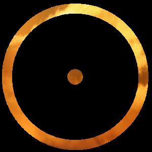 Minimalistisches Design - Symbol Sonne