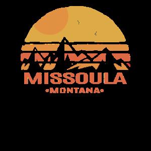 Missoula Montana Berge und Vögel