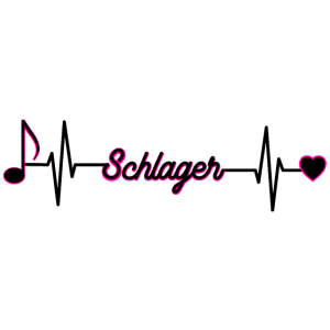 Schlager Fans Geschenkidee Herzschlag Puls