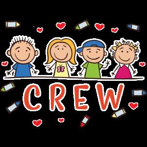 Kinder Crew Kids Kindergarten Schule