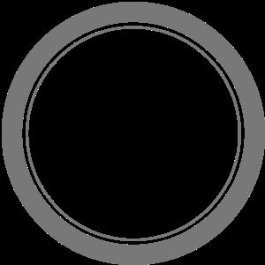 Kreis Ring Teller Loch