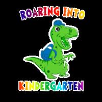 Brüllen in Kindergarten T Rex Dinosaurier zurück zu Schule
