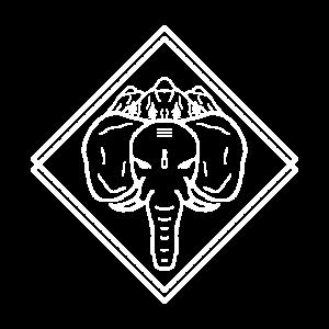 Elefant Berg Berge Himalaya Nepal Elefanten Asien