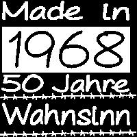 Made in 1968, 50 Jahre Wahnsinn Geburtstag