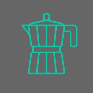 mokacoffeeappelblauwzeegroen