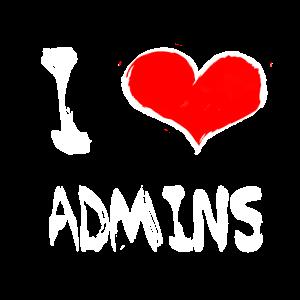 I love admins