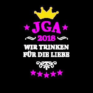 JGA 2018 JUNGGESELLINENABSCHIED KRONE