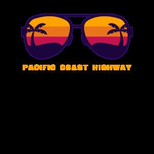 Pacific Coast Highway - PCH Palme Sonnenbrillen