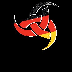 Triple Horn Odin Distressed Deutsch
