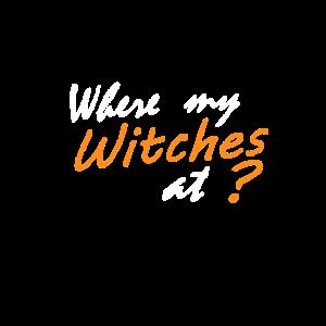 Wo sind meine Hexen?