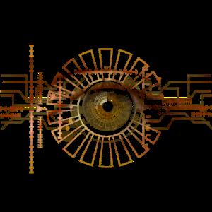 Technik Auge Linse