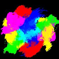 Farbklecks Bunt Farbspritzer
