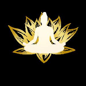 NAMASTE YOGA Lotus Meditation Buddha Lotusblume