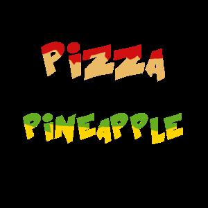 Ich bestelle Pizza auf meiner Ananas