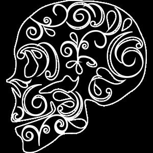 Skull Totenkopf farblich konfigurierbar