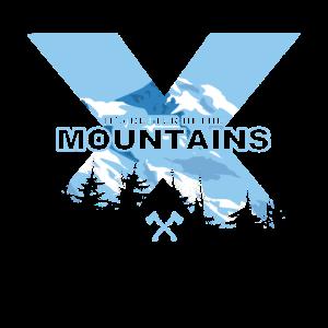It's Better In The Mountains Bergsteiger Geschenk